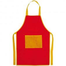 Nono gyermek zsebes konyhai kötény (nem szövött, polipropilén), piros \AP-791436-05\