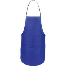 Vanur zsebes konyhai kötény (nem szövött, polipropilén), kék \AP-791896-06