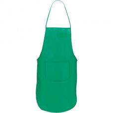 Vanur zsebes konyhai kötény (nem szövött, polipropilén), zöld \AP-791896-07