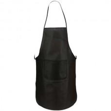 Vanur zsebes konyhai kötény (nem szövött, polipropilén), fekete \AP-791896-10\