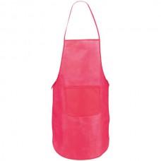 Vanur zsebes konyhai kötény (nem szövött, polipropilén), pink \AP-791896-25