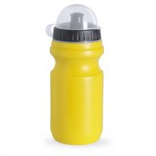 Műanyag sport kulacs, átlátszó tetővel, 550 ml sárga \AP-761857-02\
