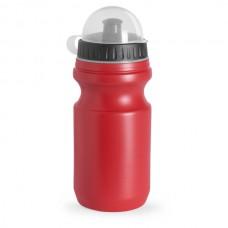 Műanyag sport kulacs, átlátszó tetővel, 550 ml piros \AP-761857-05\