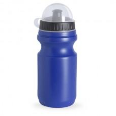 Műanyag sport kulacs, átlátszó tetővel, 550 ml kék \AP-761857-06\