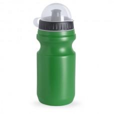 Műanyag sport kulacs, átlátszó tetővel, 550 ml zöld \AP-761857-07\