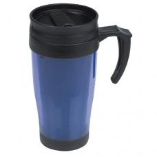 FortWorth műanyag termoszbögre, kék \E-561004\