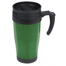 FortWorth műanyag termoszbögre, zöld \E-561009\
