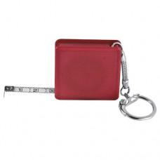 Aberdeen mérőszalag,kulcstartó, piros \E-880805\