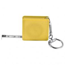 Aberdeen mérőszalag,kulcstartó, sárga \E-880808\