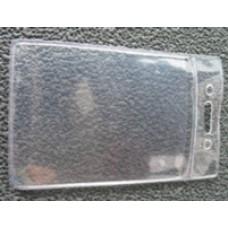 passtartó névjegykártyatartó PVC tok nyakpánthoz, álló \16H05200 \