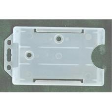 proximity (proxy) belépőkártya tartó, álló, nyakpánthoz transzparens 100 db \16H07200\