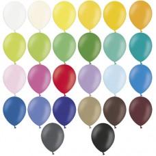 emblémázott pastel lufi (27 cm-es 1 oldal/1szín) 1000 db/rendelés \49H027-\