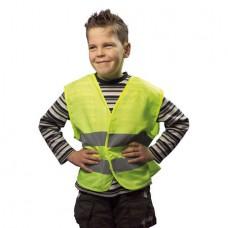 autós biztonsági mellény gyermekeknek, sárga S méret \X-2186-S\