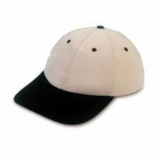 baseball sapka, polyester felsővel, fekete/nyers \X-38016-30\