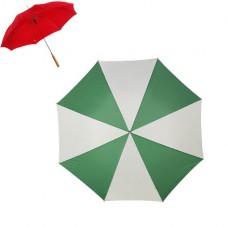 esernyő automata zöld / fehér \X-4064-44\
