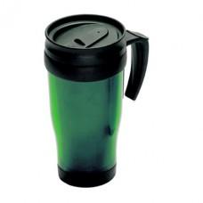 műanyag bögre 0,4 l, zöld \C-6561009\