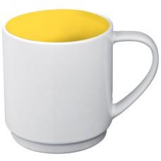 kerámia bögre 0,3 l, sárga \C-8870508\