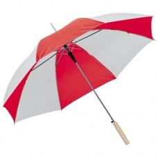 esernyő automata, egyenes fanyéllel piros \C-4508505\