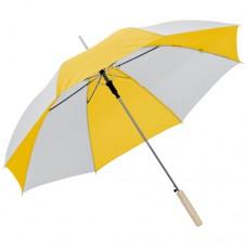 esernyő automata, egyenes fanyéllel sárga \C-4508508\