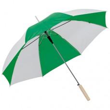 esernyő automata, egyenes fanyéllel zöld \C-4508509\