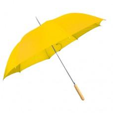 esernyő automata, egyenes fanyéllel sárga \C-4508608\