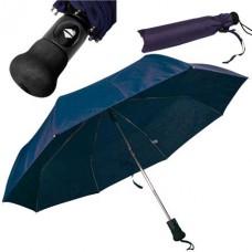 automata mini teleszkópos esernyő, gombnyomásra nyílik - csukódik s.kék \C-4519344\