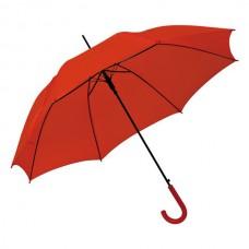 esernyő automata, műanyag nyéllel piros \C-4520005\