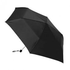 mini teleszkópos esernyő fekete \C-4753003\