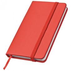 Jegyzetfüzet könyvjelzővel, piros \C-2836705\