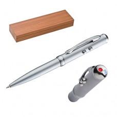 g.toll/lézerpointer (laserpointer) /LED lámpa/érintőképernyős (touchpen) fadobozban \C-1895407\