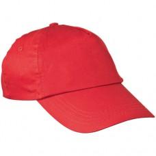 baseball sapka 5 paneles piros \C-5044705\