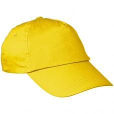 baseball sapka 5 paneles sárga \C-5044708\