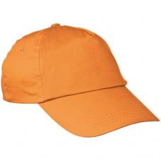 baseball sapka 5 paneles narancs \C-5044710\
