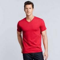 Gildan Premium Cotton 41V00 V nyakú póló GI41V00