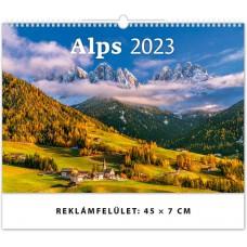 Alps (Alpok) falinaptár \H138\