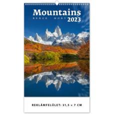 Mountains (Hegyek) falinaptár \H126\