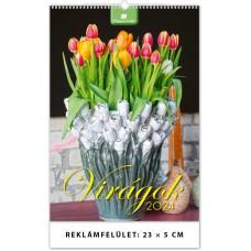 Virágok falinaptár \VI-B4\
