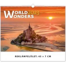 World Wonders (A Világ Csodái) falinaptár \H134\