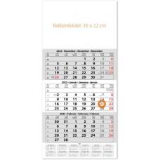 Egy tömbös három hónapos speditőrnaptár 33x67 cm \SP-1H3-FU\