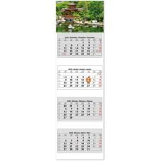 Négy tömbös négy hónapos speditőrnaptár Hangulat 33x110 cm \SP-4H4-HA\