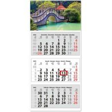 Classic Medium három hónapos speditőrnaptár Hangulat 35x75,5 cm \SP-3MECA-HA\