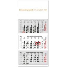 Classic Medium három hónapos speditőrnaptár 35x75,5 cm \SP-3MECA-FU\