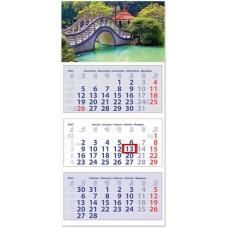 Club Medium három hónapos speditőrnaptár Hangulat 35x75,5 cm \SP-3MECU-HA\