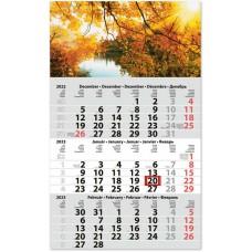 Classic Primus három hónapos speditőrnaptár Hangulat 30x48,5 cm \SP-1PRCA-HA\