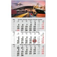 Classic Primus három hónapos speditőrnaptár Logisztika 30x48,5 cm \SP-1PRCA-LO\