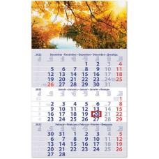 Club Primus három hónapos speditőrnaptár Hangulat 30x48,5 cm \SP-1PRCU-HA\