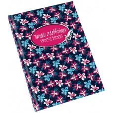 Tanári zsebkönyv 2021/2022, virágminta (68) \RS 5311-68\