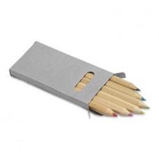 színesceruza készlet 6 db-os rövid \M-243200\