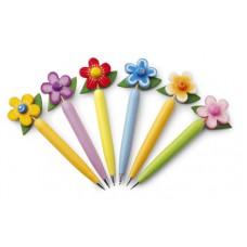 golyóstoll, virág, 24 db-os készlet, darabonkénti ár! \M-247809\