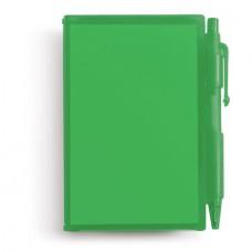 golyóstoll/jegyzettömb fekete betéttel, zöld \M-273604\